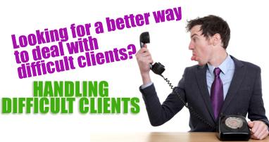 Handling Difficult Clients Workshop - Guthrie-Jensen