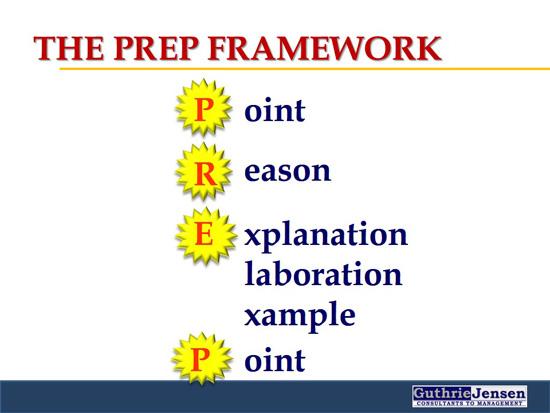 PREP Framework - Guthrie-Jensen