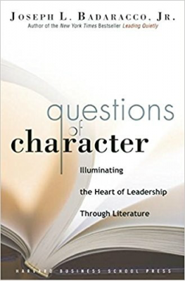 Questions of Character Book Cover