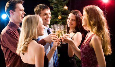 Christmas party social