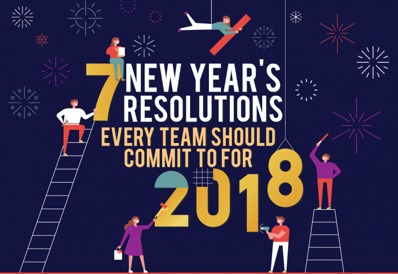 7 New Year's Resolutions Every Team Should Commit to for 2018