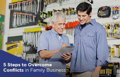 5 Steps to Overcome Conflicts in the Family Business