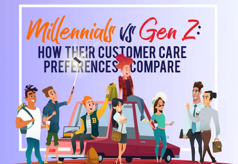 Millennials vs Gen Z: How Their Customer Care Preferences Compare