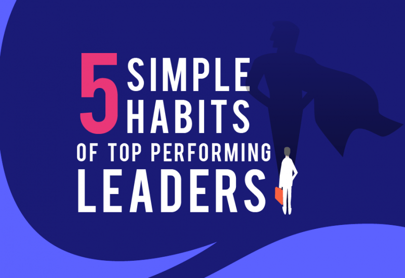 5 Simple Habits of Top Performing Leaders [Infographic]