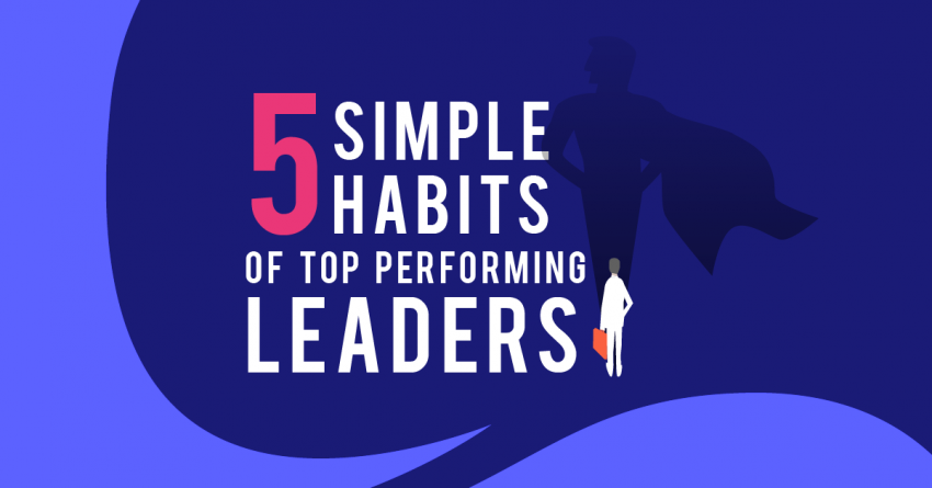 Blog banner - 5 Simple Habits of Top Performing Leaders