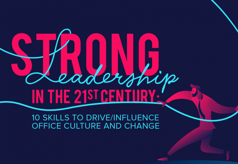 Strong Leadership in the 21st Century: 10 Skills to Influence Office Culture and Change